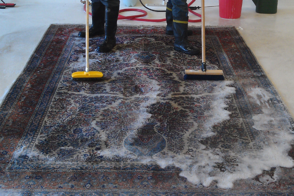 ACU experts have designed methods for cleaning area rugs of all kinds of fibers and materials