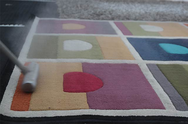 Quality tools and expert procedures assure professional results for every area rug cleaning